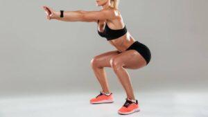 esercizi squat per cellulite