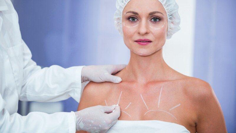 intervento di chirurgia al seno