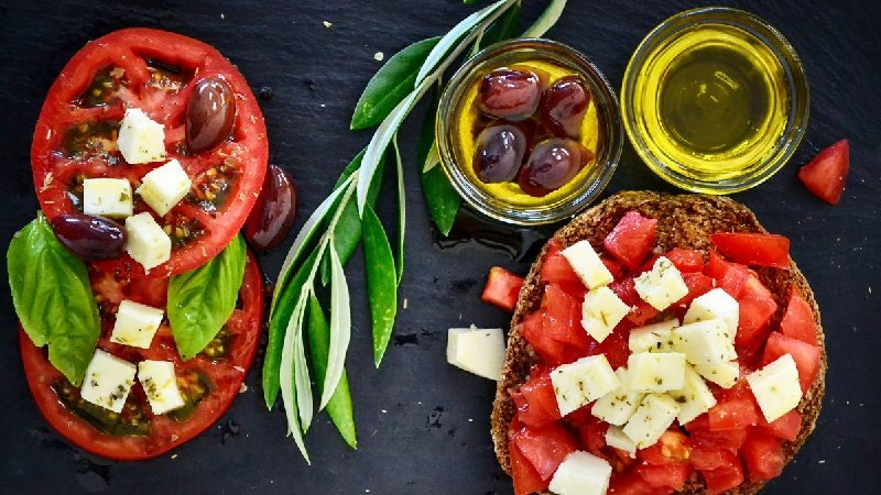 Immagine alimenti dieta mediterranea